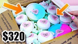 100% Honest Review of $320 SLIME PACKAGE! Is EXPENSIVE SLIME Worth The Money??