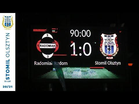 Skrót meczu Radomiak Radom - Stomil Olsztyn 1:0