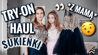 TRY ON SUKIENEK Z MAMĄ! ☺️ HAUL Babyonlinedress
