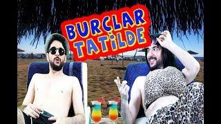 BURÇLAR TATİLDE / Plaj savaşları 1