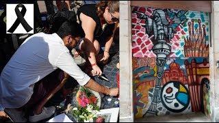 Graffiti La Rambla atentados 2017 Barcelona
