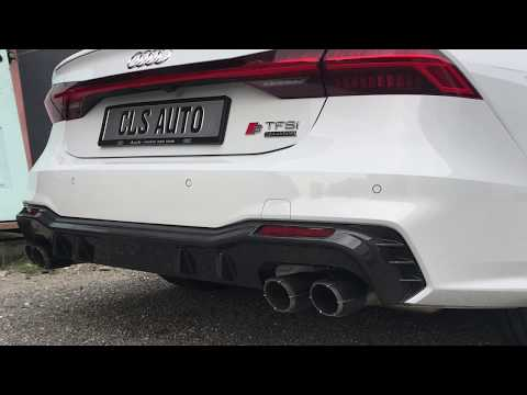 The iPE Exhaust for Audi A7 C8 55 TFSI