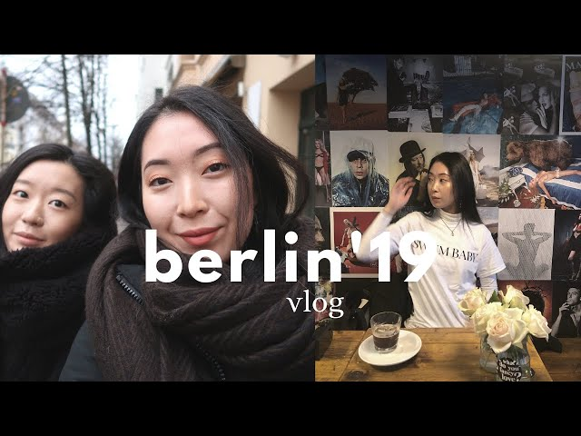 Berlin Vlog '19 | winter outfits, where to shop, hidden gems of the city