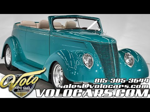1937 Ford Cabriolet (CC-1380544) for sale in Volo, Illinois