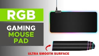 Extended Gaming Mouse Pad with RGB USB LED Light