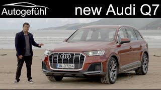 Audi Q7 Facelift FULL REVIEW - Facelift or rather all-new? TDI vs TFSI comparison - Autogefühl