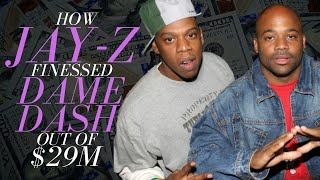 How Jay Z Finessed Dame Dash for $29m+ (The Roc Story)