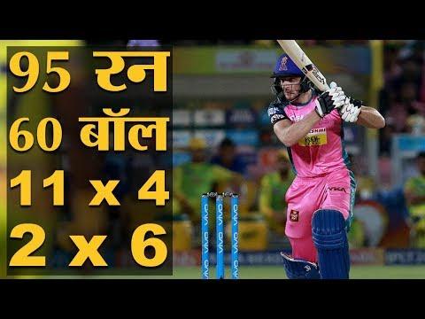 IPL 2018 | Match 43 | CSK v RR | Jos Butler की पारी ने कैसे MS Dhoni की Chennai का खेल बिगाड़ा?