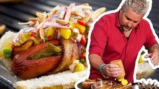 Guy Fieri Makes Danger Dogs   Food Network