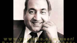 ( Sad Ver ) : Muhammad Rafi : Md Madan Mohan - YouTube