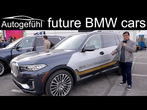 BMW future cars: BMW i3 urban suite vs BMW X7 ZeroG vs BMW i interaction ease