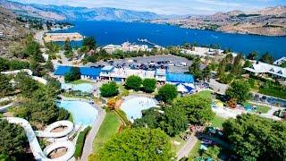 Slidewaters Waterpark & Water Slides in Sunny Lake Chelan