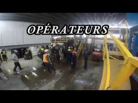 DEP | Conduite de machines de traitement du minerai