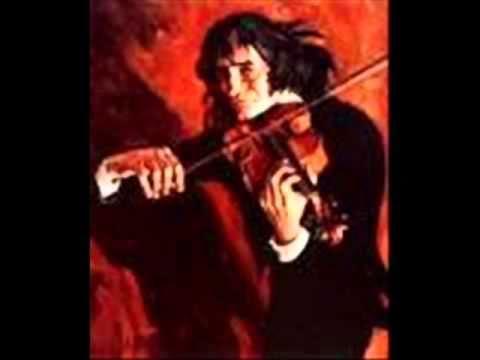 PAGANINI - LE STREGHE Introduzione Tema e Variazioni - Violino: S.Accardo (LP 1979)