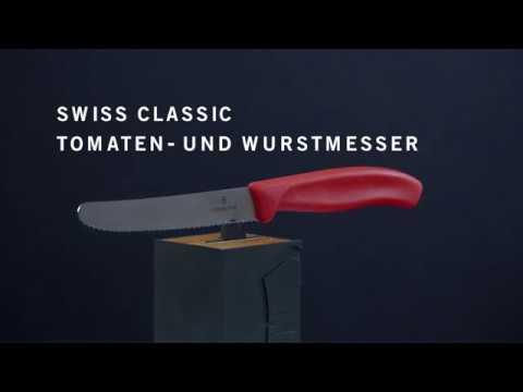 Swiss Classic Tomaten- und Wurstmesser