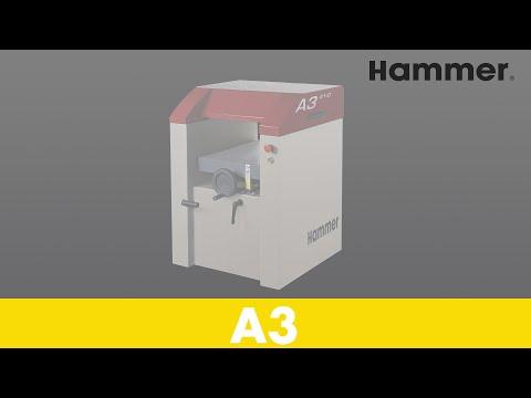 HAMMER® - A3 - Jointer-Planer - Setup-Demonstration (Part 1)