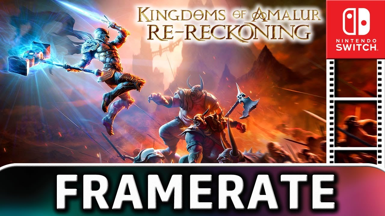 Kingdoms of Amalur: Re-Reckoning | Nintendo Switch Gameplay and Frame Rate Test