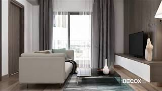 Mẫu thiết kế nội thất căn hộ The Park Residence 58m2 - Nhà Bè