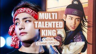 Kim Taehyung (BTS V) - Multi-talented King
