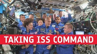 L'astronauta Luca Parmitano nuovo comandante della Stazione Spaziale Internazionale