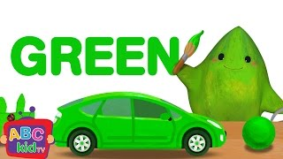 Color Song - Green | Cocomelon (ABCkidTV) Nursery Rhymes & Kids Songs