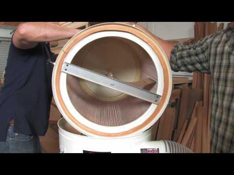 Jet Vortex Dust Collector: Filter Baffle