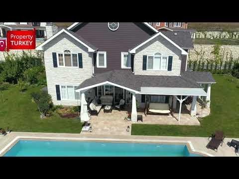 Luxury family villas close to Buyukcekmece Lake for sale