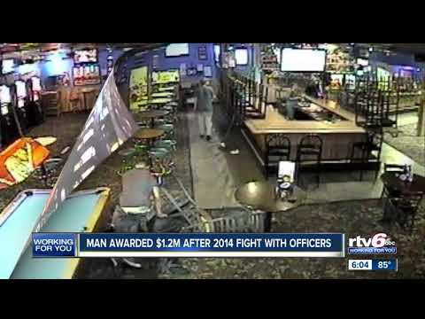 Man awarded $1.2m after 2014 fight with officers