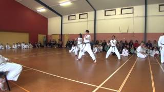 preview picture of video 'wrka kyoso cup ring2 demos 04b'