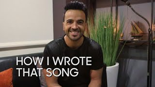 """How I Wrote That Song: Luis Fonsi """"Despacito"""""""