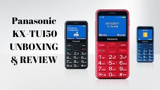 Panasonic Senior Feature Phone (For Elderly) KX-TU150 UNBOXING & REVIEW
