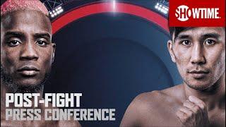 Colbert vs. Nyambayar: Post-Fight Press Conference   SHOWTIME CHAMPIONSHIP BOXING