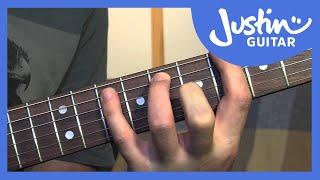 12 Bar Blues In 12 Keys - Blues Rhythm Guitar Lessons [BL-201]