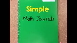 Evan-Moors Simple Math Journals
