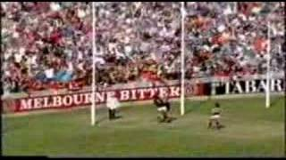 Essendon Vs Carlton Drawn game R2 1993