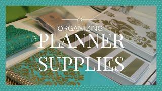 PLANNER ORGANIZATION 2015:  Planner Supplies