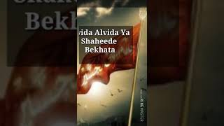 Alvida Alvida Ya Hussain Alvida Full Screen Whatsapp Status