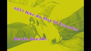 los angeles 55b70 df083  051 Unboxing Nike Air Max 90 Essential