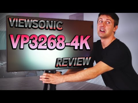 Viewsonic VP3268-4K Review – The BEST Monitor for 4K Editing & Gaming?