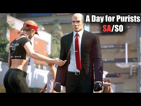 HITMAN 2 - A Day for Purists Contract - Silent Assassin Suit Only