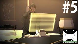Deus Ex GO Android GamePlay #5 [60FPS/1080p]