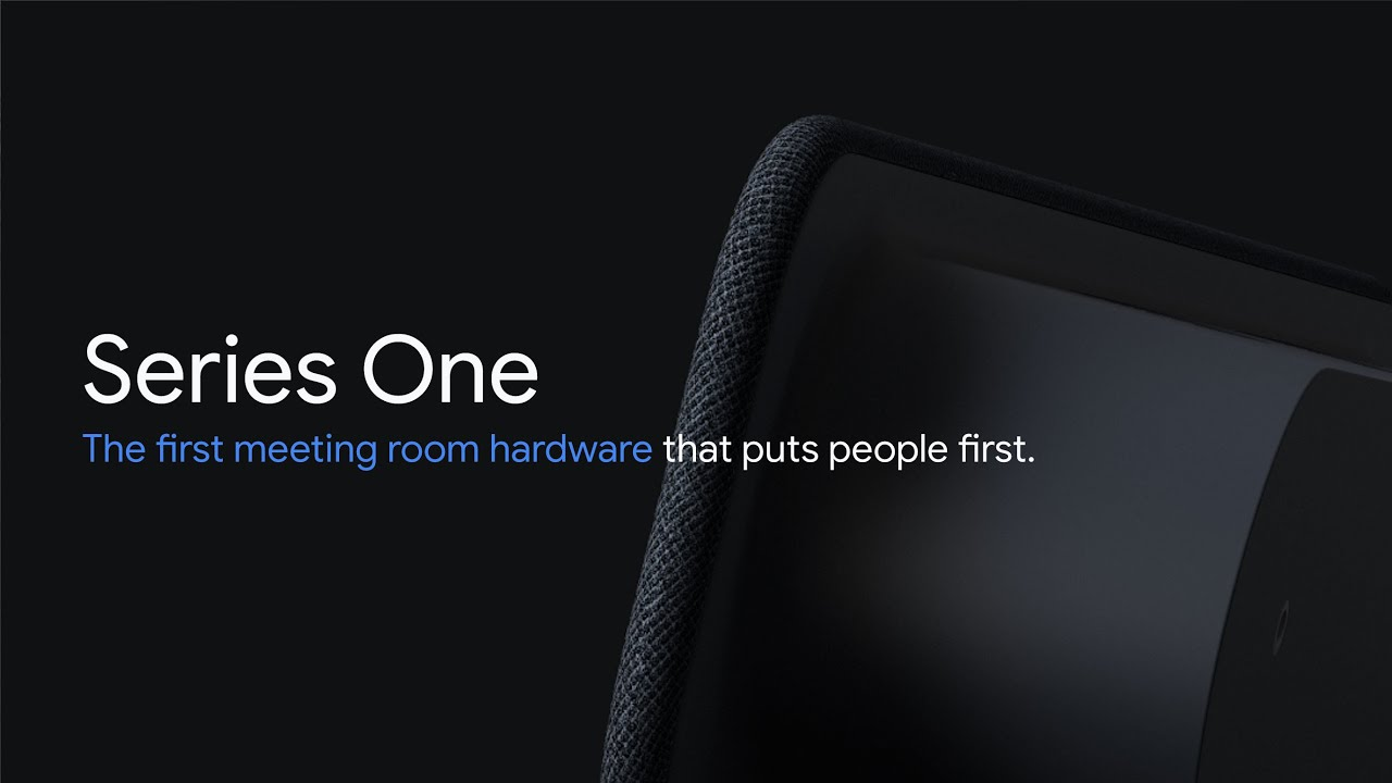 Introducing the new Google Meet hardware - Series One the first meeting room hardware that puts people first. They are designed to provide captivating and immersive video and audio experiences, using the best of Google intelligence and high quality components.