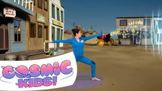 Sheriff Updown the Rabbit | A Cosmic Kids Yoga Adventure!