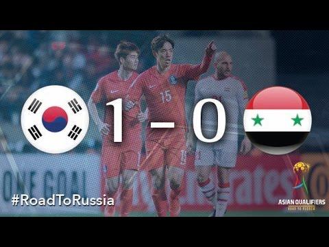 Южная Корея - Сирия 1:0. Видеообзор матча 28.03.2017. Видео голов и опасных моментов игры