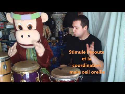 CD Rythmes et tambours