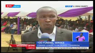 Interdenominational funeral service being held for former politician Mark too