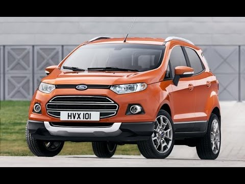 The All New 2015 Ford EcoSport Review