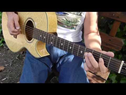 Beginner - How to Play the E Blues SHUFFLE  - Blues Guitar Lessons