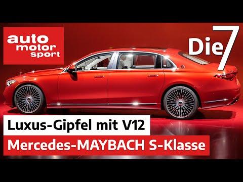 Luxus-Gipfel mit V12 - 7 Fakten zur Mercedes-Maybach S-Klasse   auto motor und sport