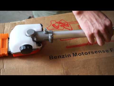 GartenXL 5in1 52ccm 3PS Benzin Rasentrimmer Motorsense